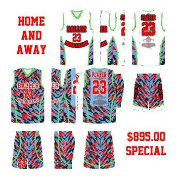 Picture of Basketball Kit Style 548 Special