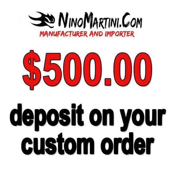 Picture of Deposit Certificate NinoMartini.Com