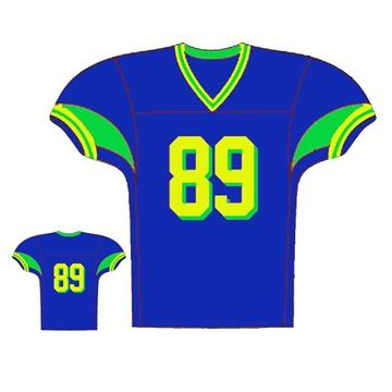 Picture of Foorball Jersey Style 311 Custom Pro Line
