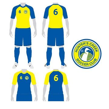 Picture of Soccer Kit Style HCS 218 Custom
