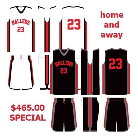 Picture of Basketball Kit Style 512 Special