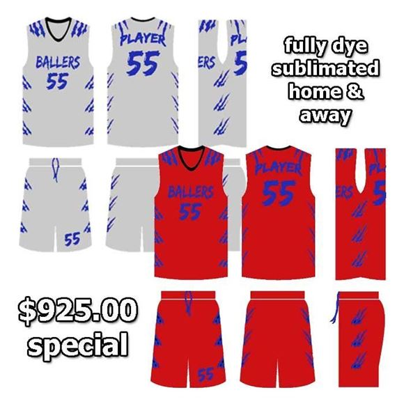 Picture of Basketball Kit Style 544 Special