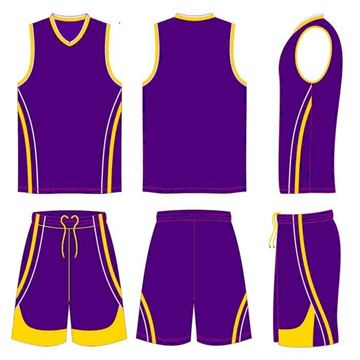Picture of Basketball Kit Style 508 Custom