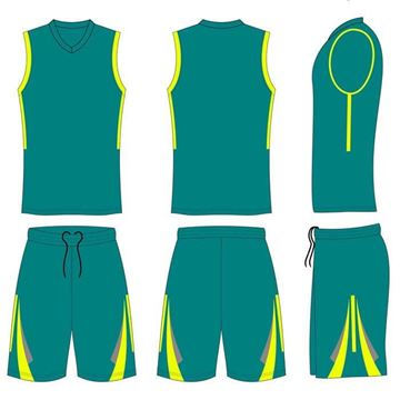Picture of Basketball Kit Style 546 Custom