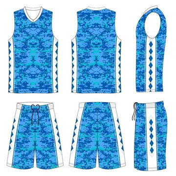 Picture of Basketball Kit Style 525B Custom