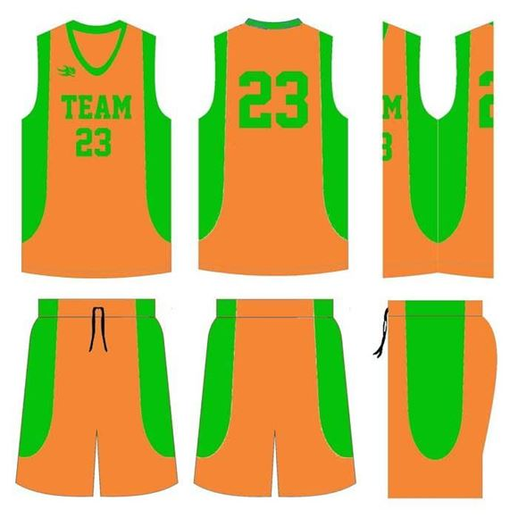Picture of Basketball Kit Style 518 Custom