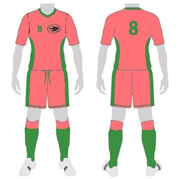 Picture of Soccer Kit Style WB103 Custom