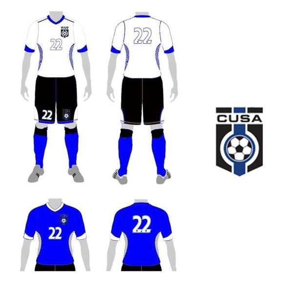 Picture of Soccer Kit Style CUS 234 Custom