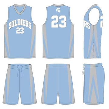 Picture of Basketball Kit SOL 506 Custom