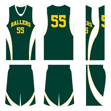 Picture of Basketball Kit Style 504 Custom