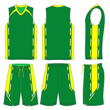 Picture of Basketball Kit Style 576 Custom