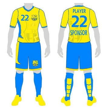 Picture of Soccer Kit Style WB225 Custom