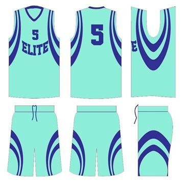 Picture of Basketball Kit Style 535 Custom