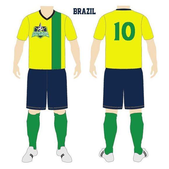 Picture of Soccer Kit SIF 157 Custom