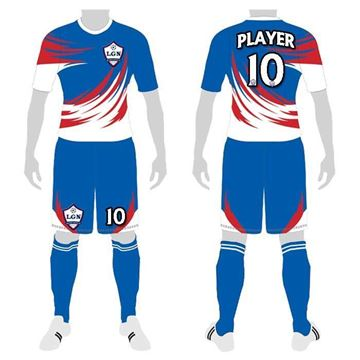 Picture of Soccer Kit Style LGN 185 Custom