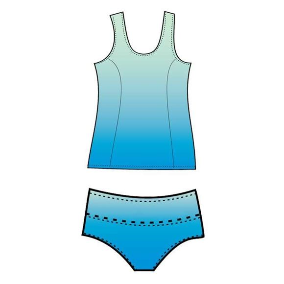 Picture of Beast Tankini style 735 Custom