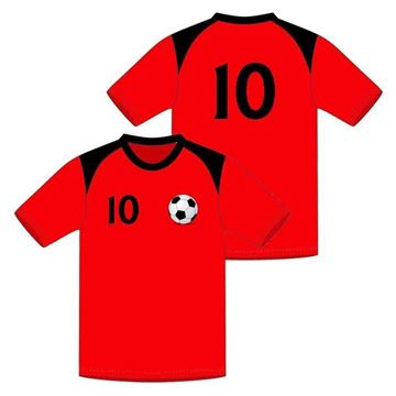 Picture of Soccer Game Jersey Style WB 616 Custom