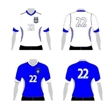 Picture of Soccer Jersey Style CUS 234J Custom