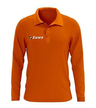 Picture of Long Sleeve Polo Shirt Basic