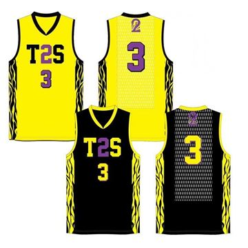 Picture of Basketball Jersey T2S 526JR Custom