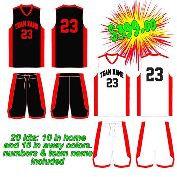 Picture of Basketball Kit Style 514 Special