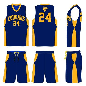 Picture of Basketball Kit Style  CCP547 Custom